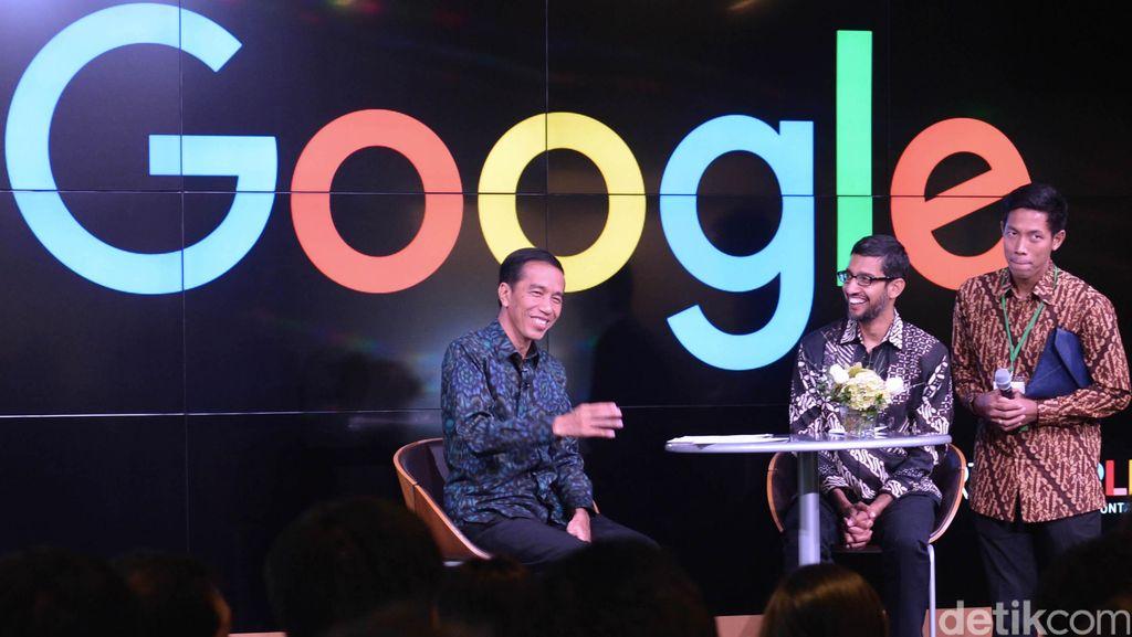 Jokowi Sambangi Markas Google