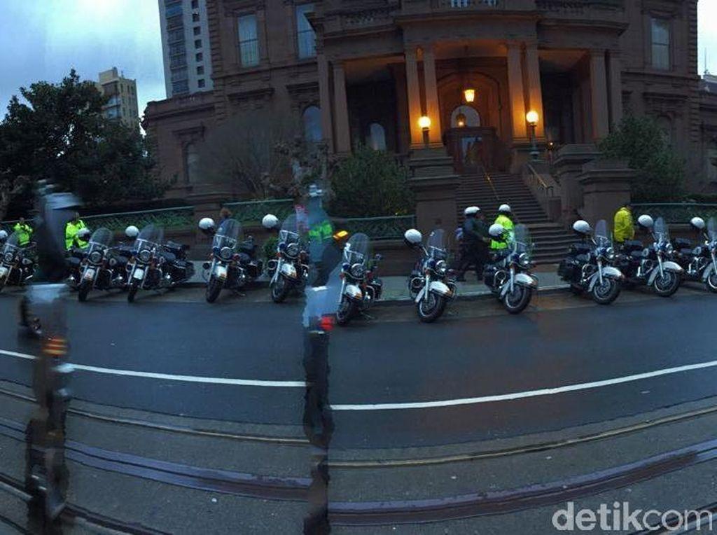 Jokowi Keliling Silicon Valley Dikawal 50 Polisi Bermotor