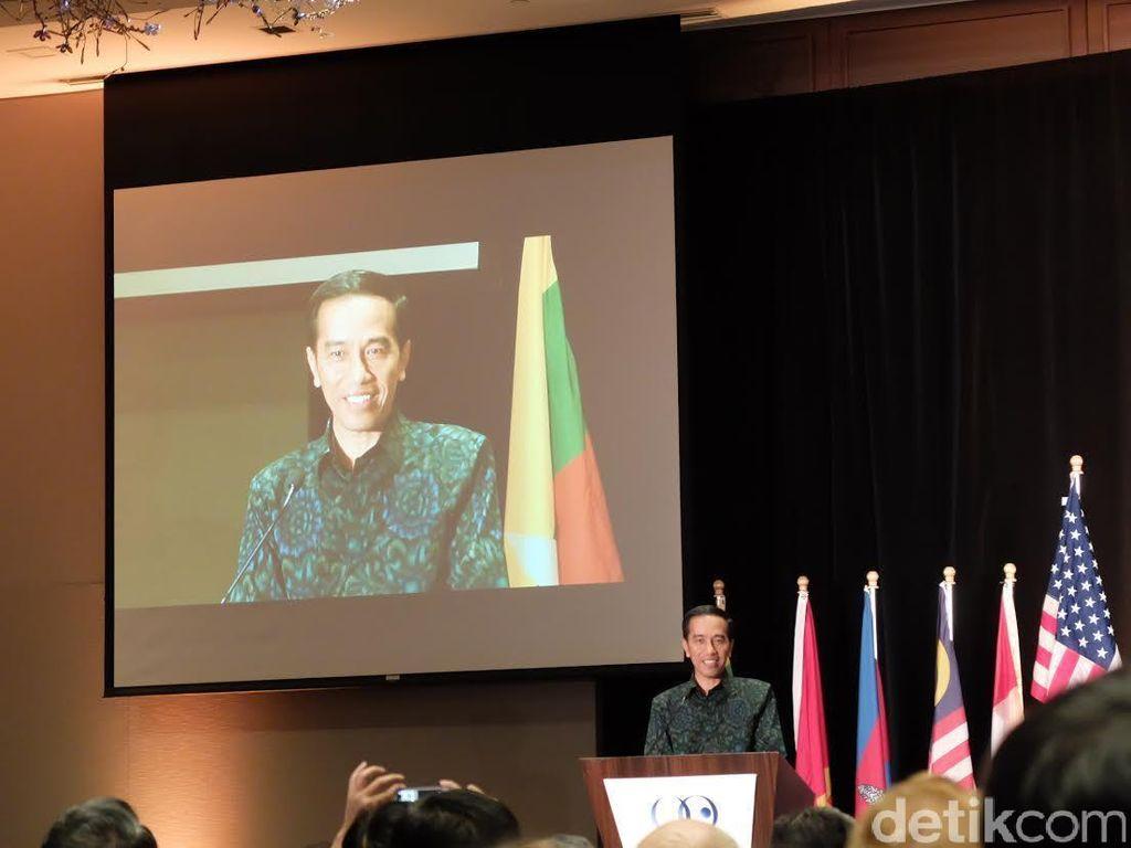 Di Depan Pebisnis AS, Jokowi: Banyak Investasi RI Dibuka 100% untuk Asing