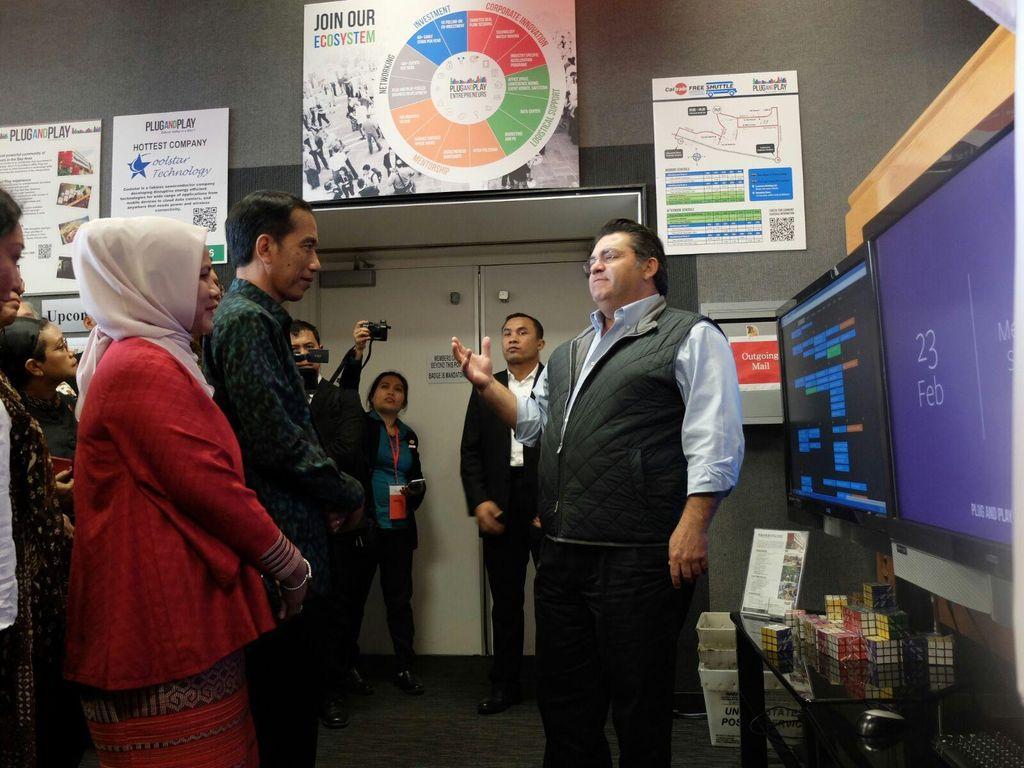 Jokowi Sambangi Kawah Candradimuka Silicon Valley