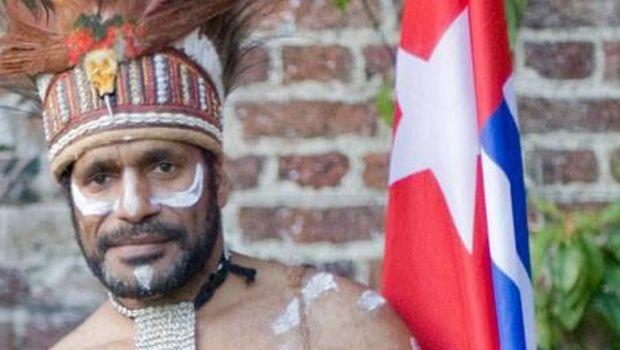 Aktivis pro-kemerdekaan Papua Benny Wenda menuntut referendum.