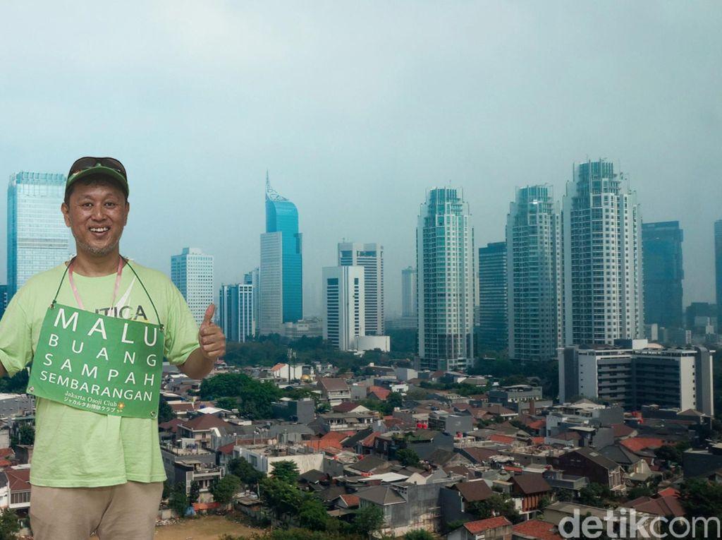Gemas Orang Jepang pada Jakarta