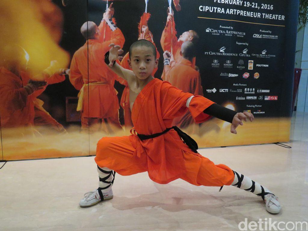 Lincahnya Pendekar Cilik Shaolin Warriors di Jakarta