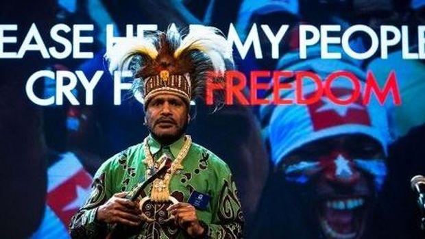 Juru Bicara United Liberation Movement for West Papua (ULMWP) Benny Wenda.