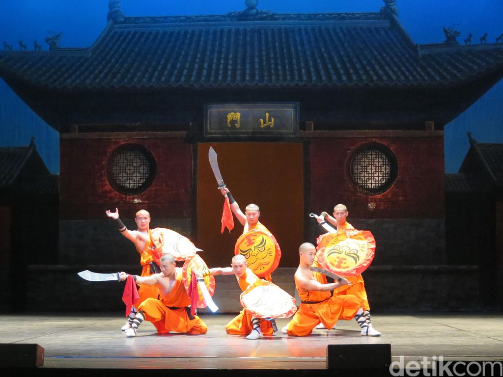 Jurus Legendaris Kungfu Shaolin Pukau Penonton Jakarta!