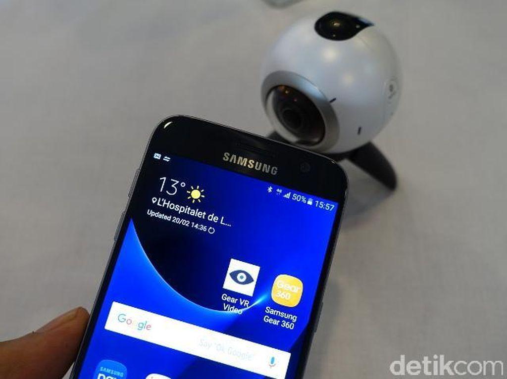 Wearable Device Samsung Melorot ke Posisi Empat