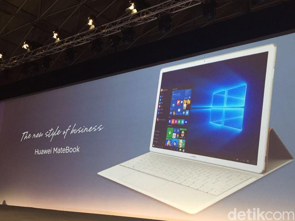 Notebook Super Tipis Huawei Melenggang
