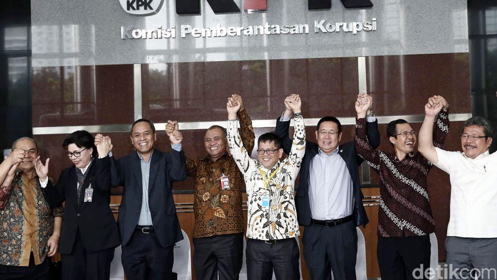 Komisi III DPR Sambangi Gedung Baru KPK