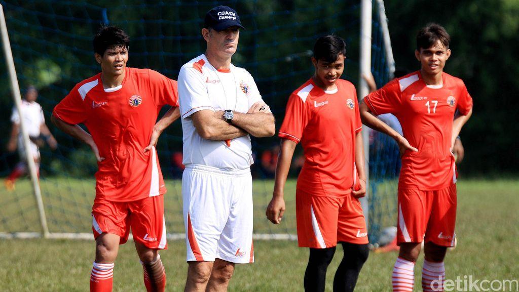 Paulo Camargo Pimpin Latihan Persija