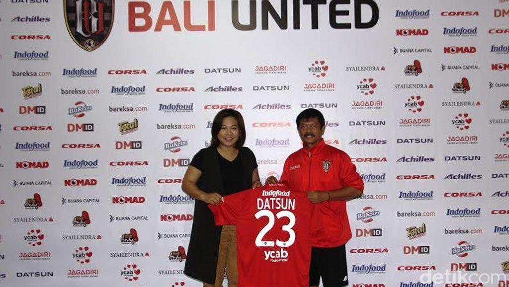Ada Datsun di Kaos Klub Bali United
