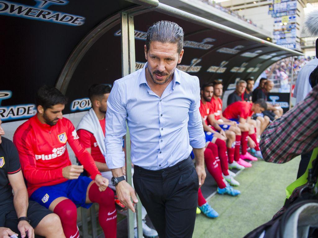 Cocu Puji Kiprah Simeone di Atletico
