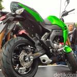 Jarang Ada di Jalanan, Motor Mini Kawasaki Z125 Harus Inden Dulu