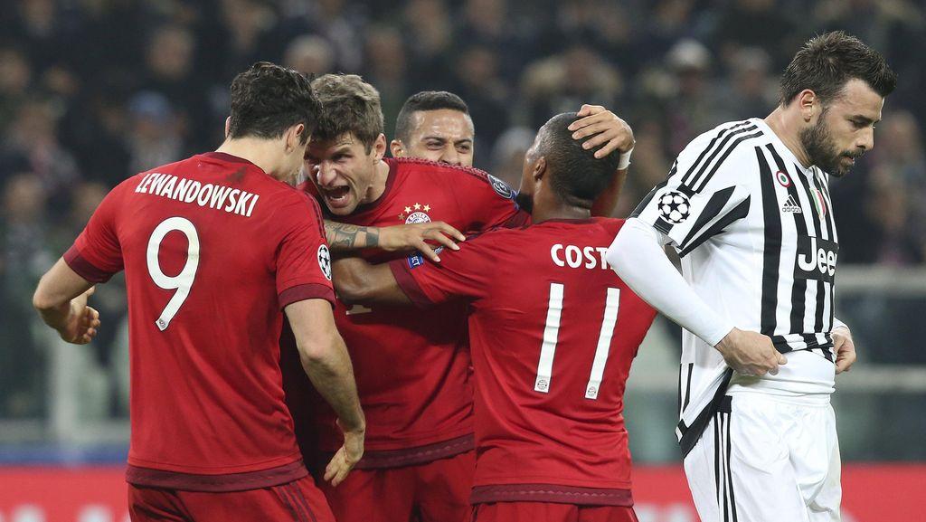 Juventus Tahan Imbang Bayern 2-2