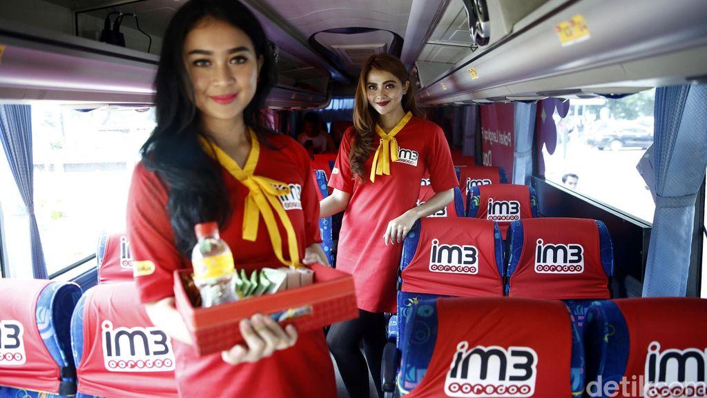 Bus Gratis IM3 Ooredoo Manjakan Warga Jakarta