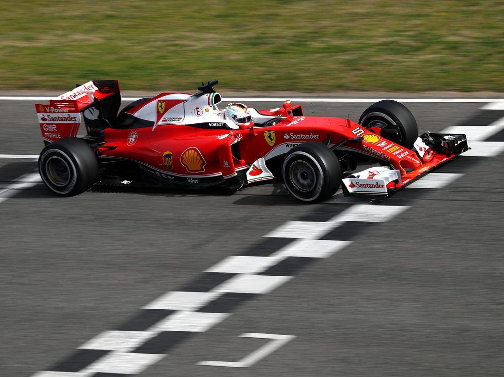 Mobil Ferrari Sudah Seperti yang Diinginkan Vettel