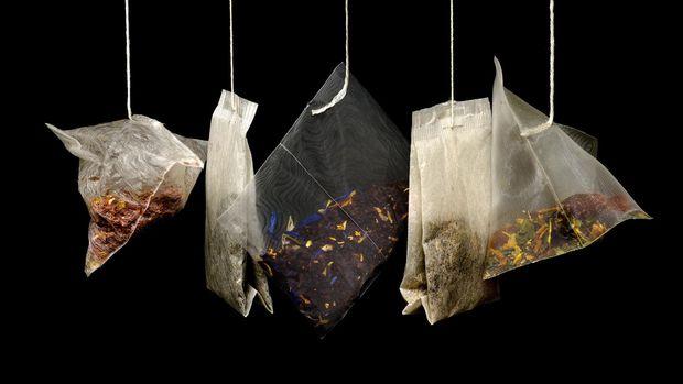 Ilustrasi ragam jenis teh celup