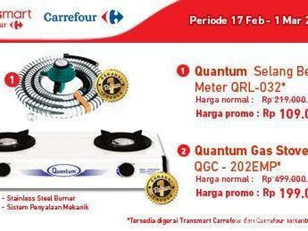 Aman Memasak dengan Transmart Carrefour