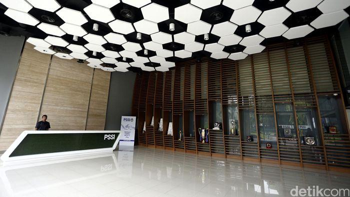 Kantor PSSI saat masih berada di kompleks GBK. (Rengga Sancaya/detikSport)