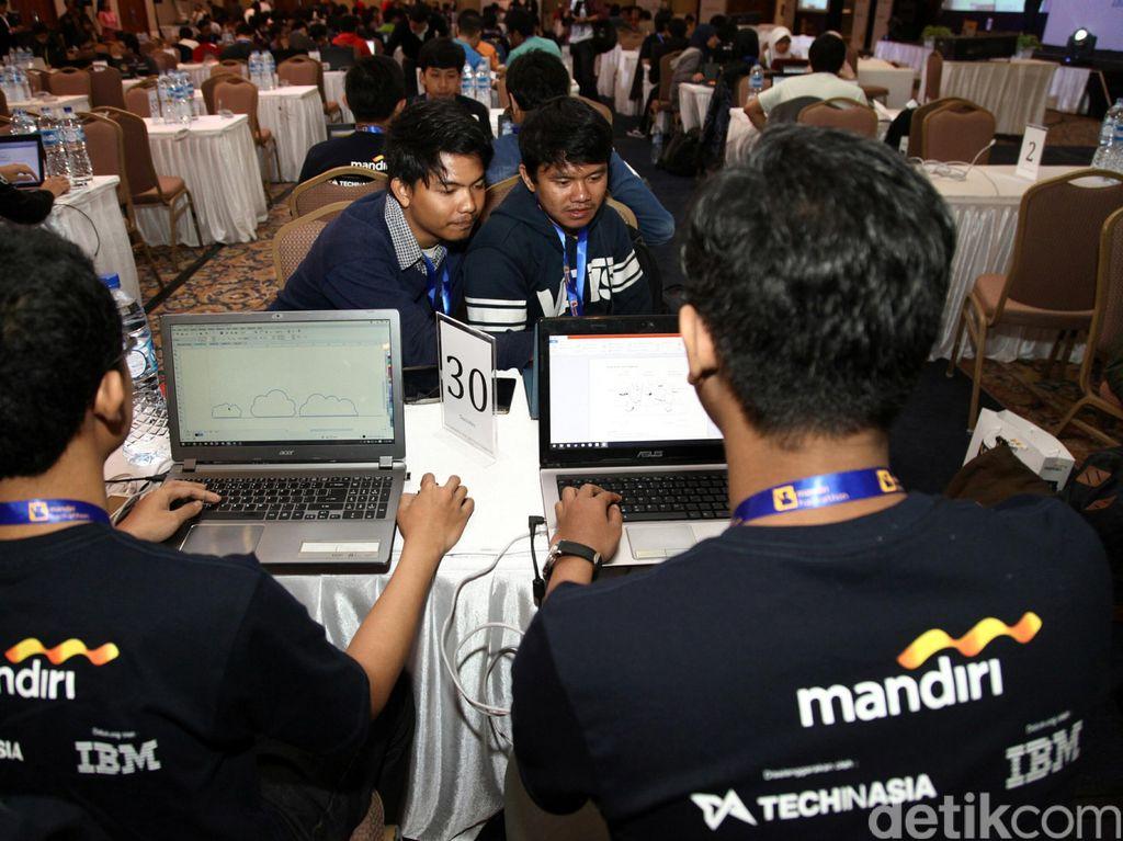 Ratusan Developer Keroyok Aplikasi Mandiri e-Cash