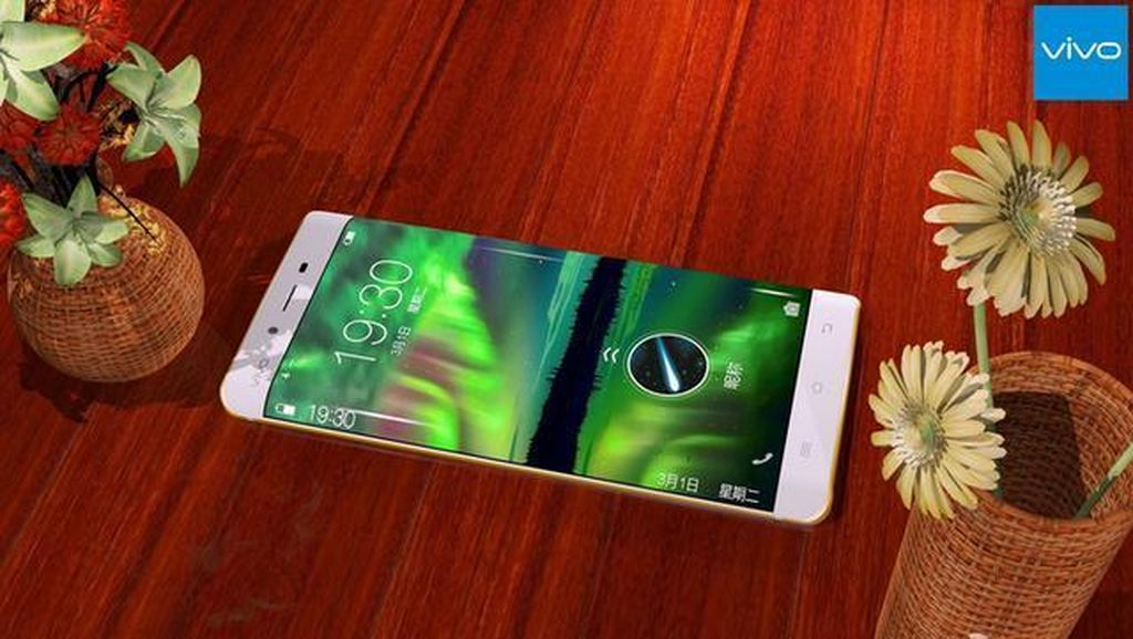 Lekukan Layar Galaxy S7 Edge di Ponsel China