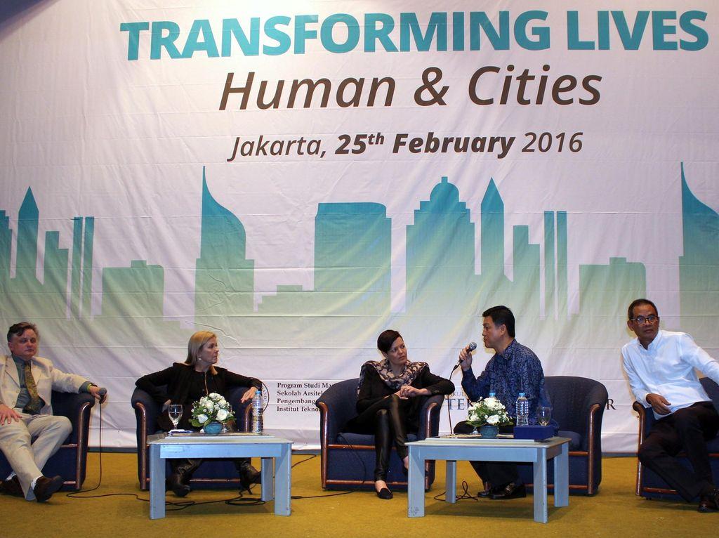 Seminar Perencanaan Desain Perkotaan yang Manusiawi