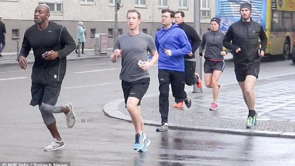 Zuckerberg Dikawal Bodyguard Rp 100 Miliar