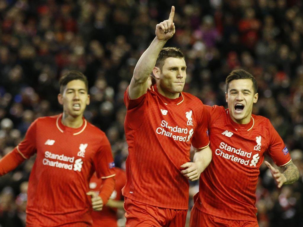 Milner Loloskan Liverpool ke 16 Besar