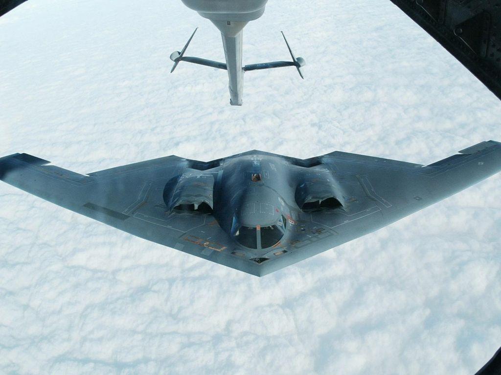Hantui Korut, Ini Jet Pengebom Siluman AS yang Diluncurkan ke Pasifik