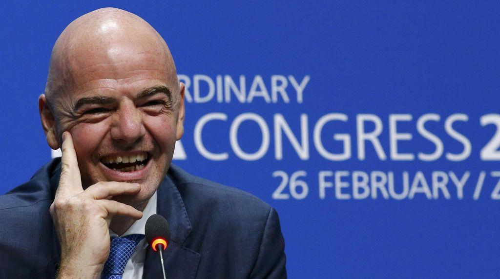Gianni Infantino, Sang Nakhoda Baru FIFA