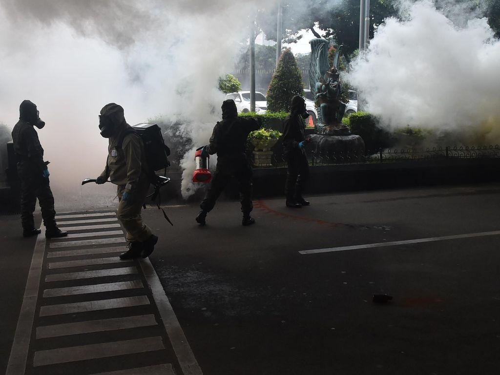 TNI-Polri Gelar Simulasi Penangkapan Teroris Seminggu Jelang KTT OKI
