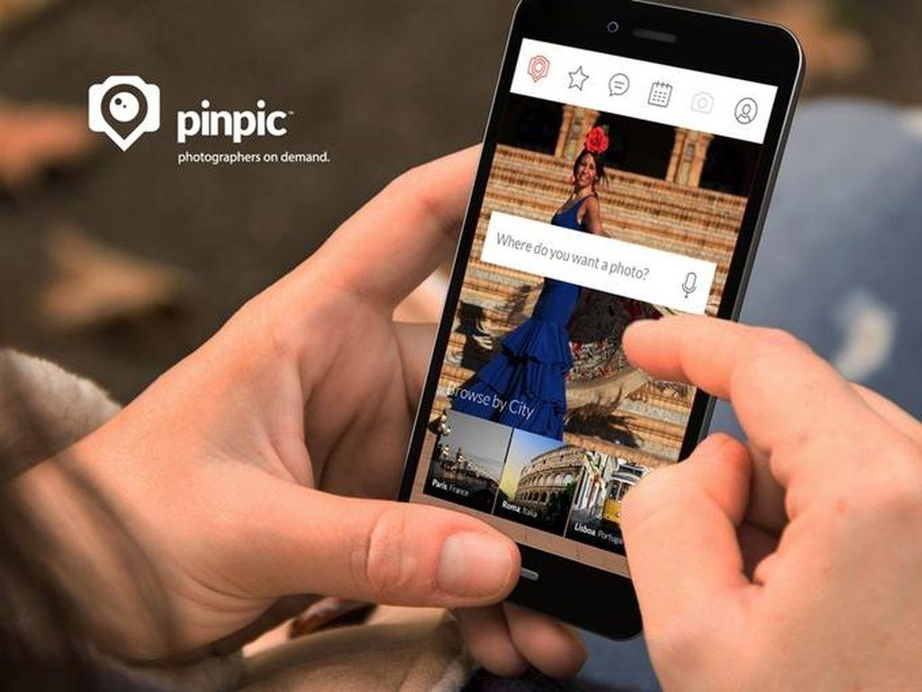 Pinpic, Layanan Juru Foto Keliling Online