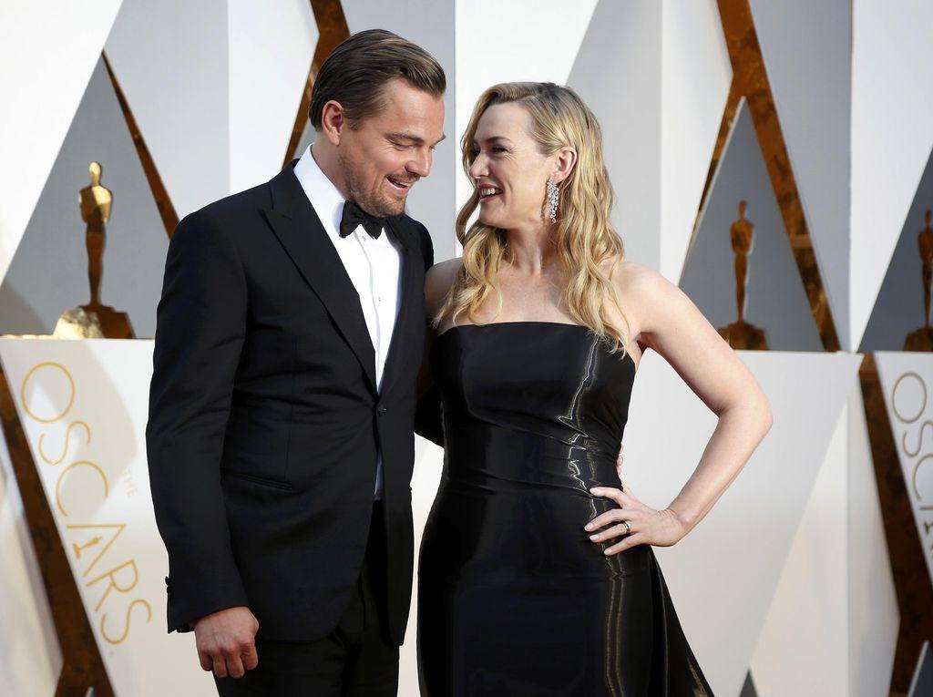 Kate Winslet Buka Suara soal Isu Pacaran dengan Leonardo DiCaprio