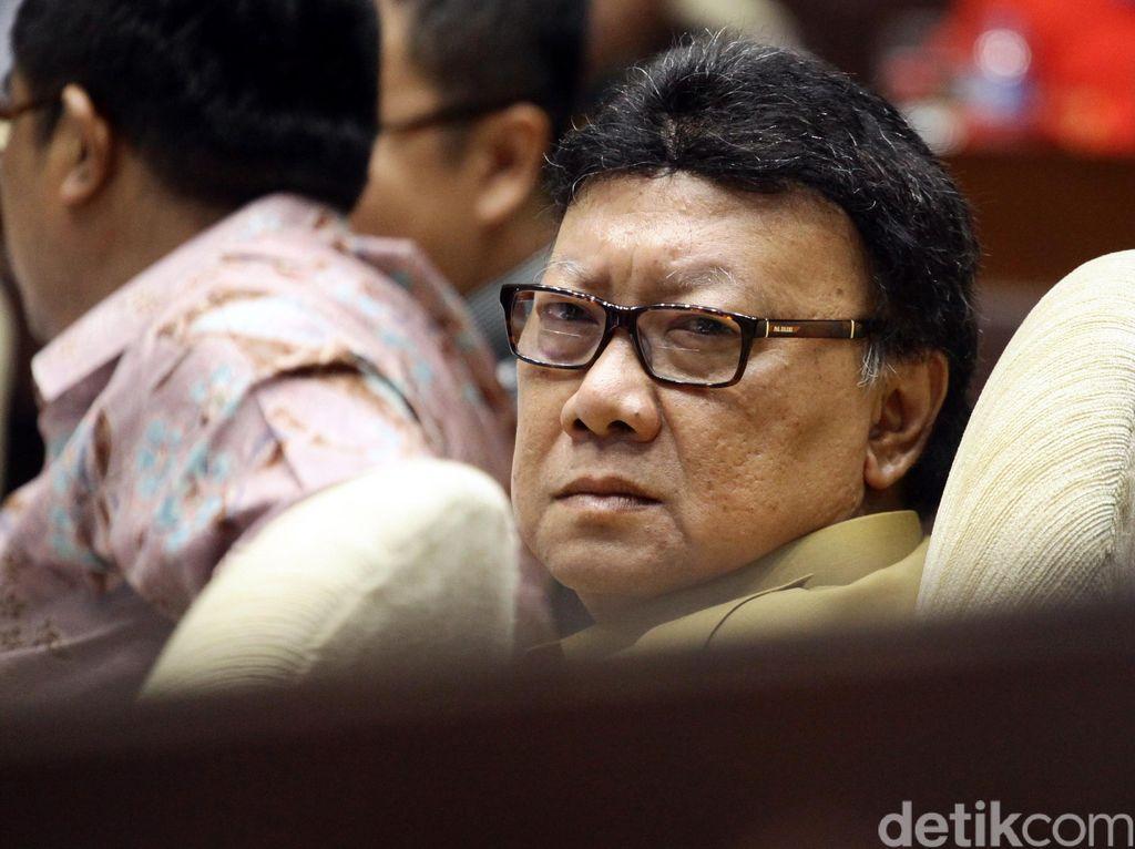 Tak Hadiri Pelantikan Kompolnas, Mendagri Minta Maaf ke Presiden Jokowi