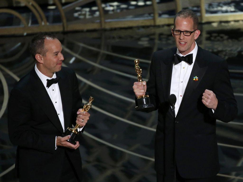 Inside Out Film Animasi Terbaik Oscar 2016