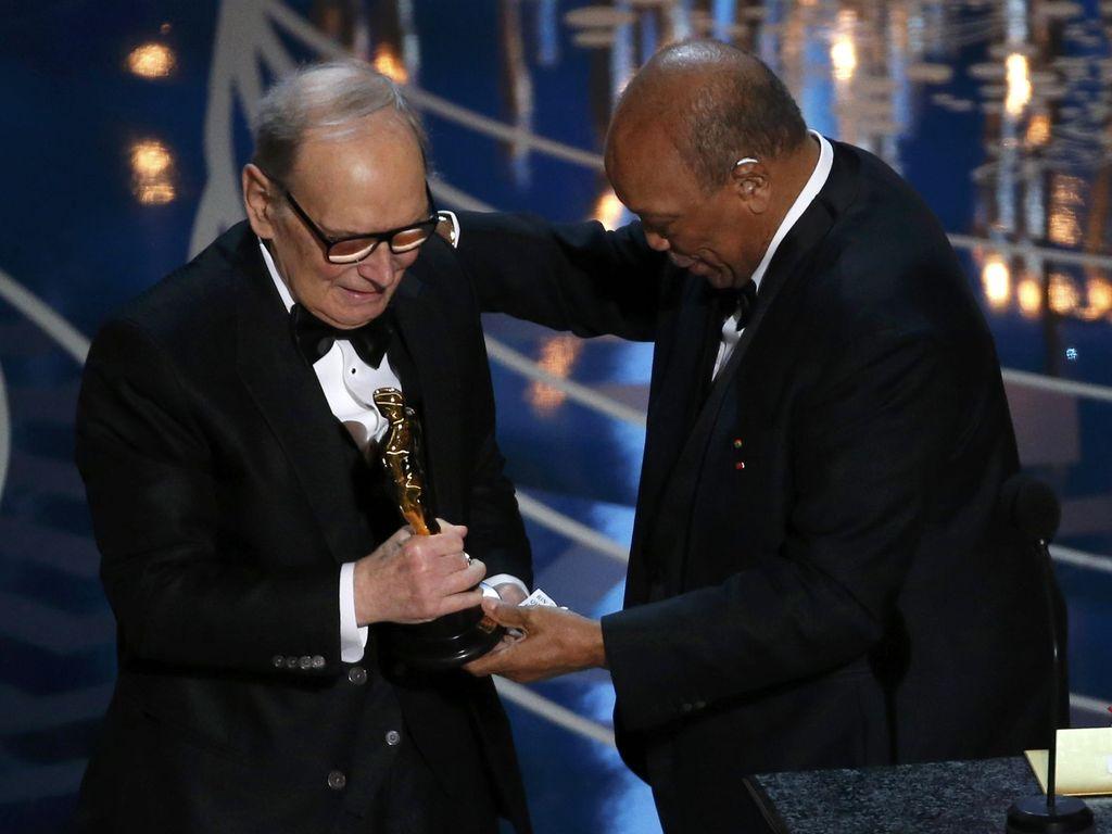 Komponis Pemenang Oscar Italia Ennio Morricone Meninggal
