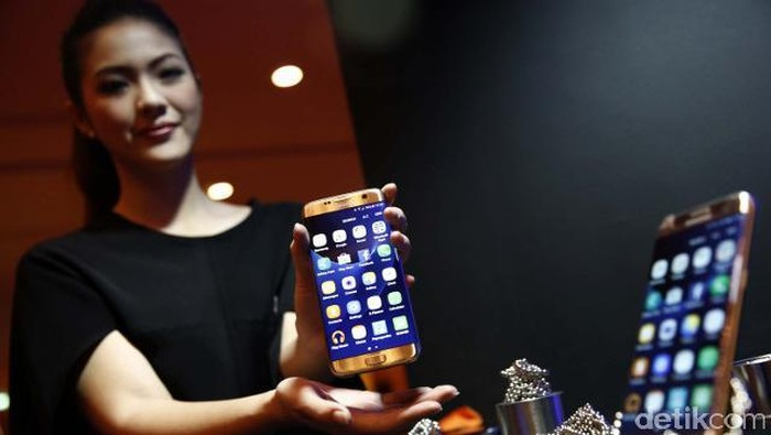 Samsung Galaxy S7 Edge Foto: detikINET/Rachman Haryanto