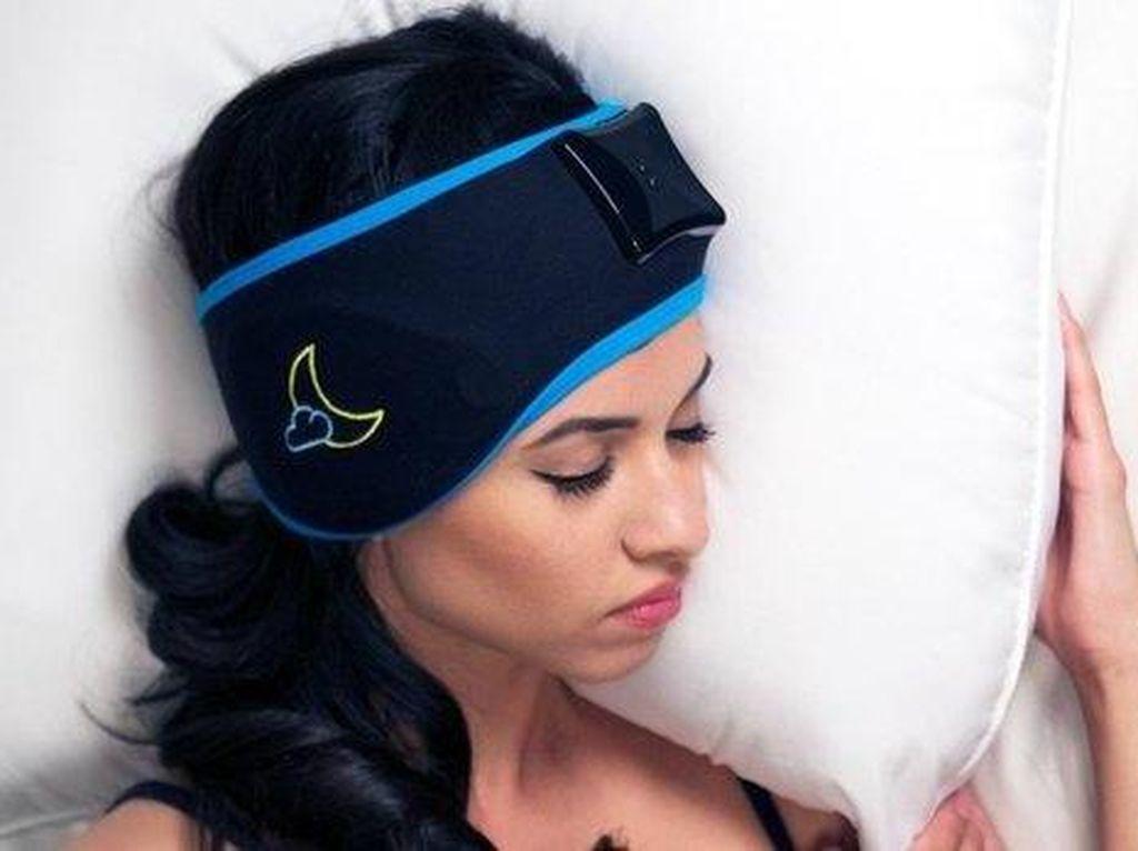 Bandana Pintar Ini Bantu Pemakainya Tidur Nyenyak Semalaman