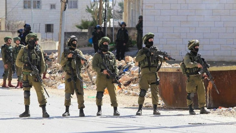 2 Demonstran Palestina Tewas Ditembak Tentara Israel di Gaza