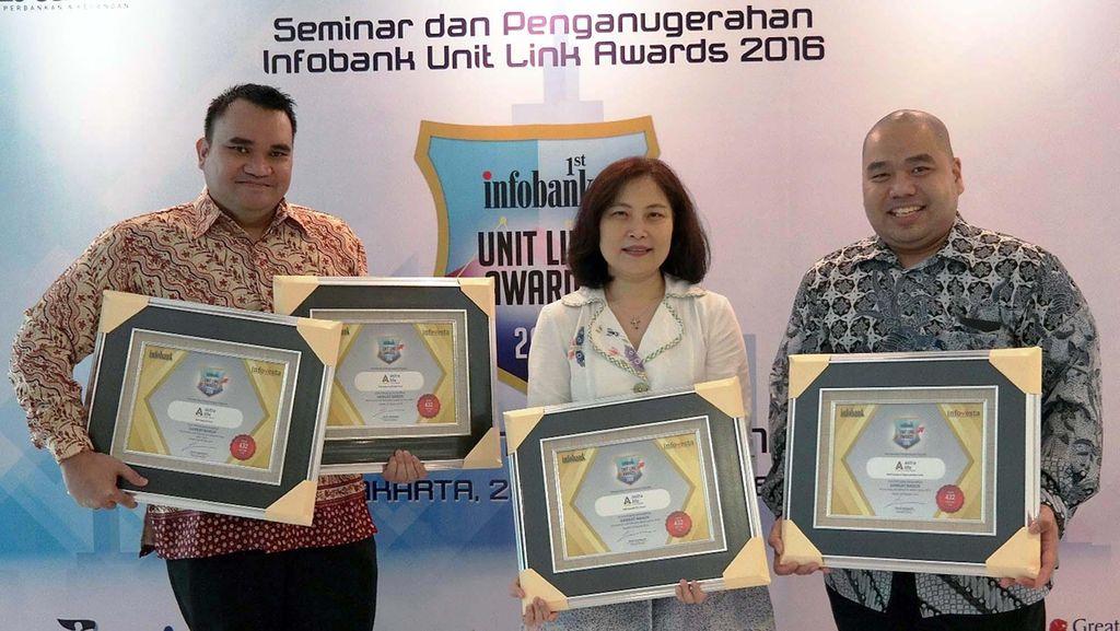 Astra Life Raih Infobank Unit Link Award