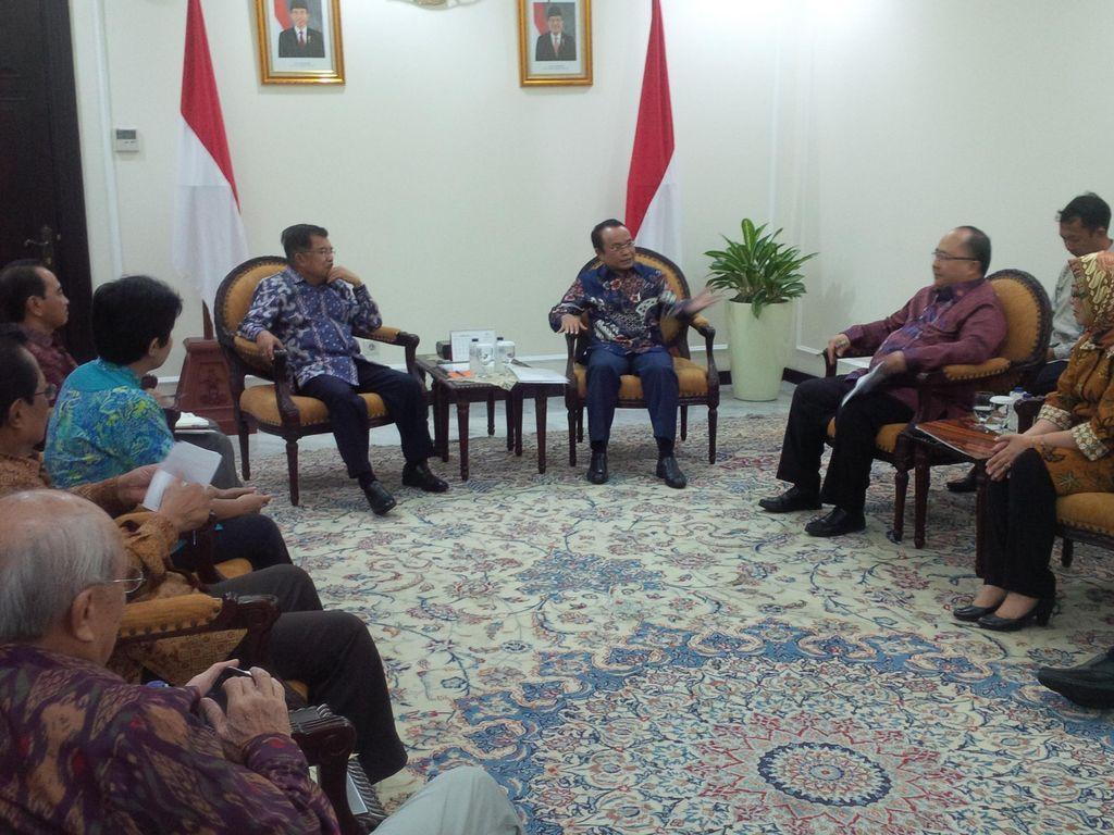 Bertemu Wapres JK, Institut Otda Usulkan Moratorium Pemekaran Daerah
