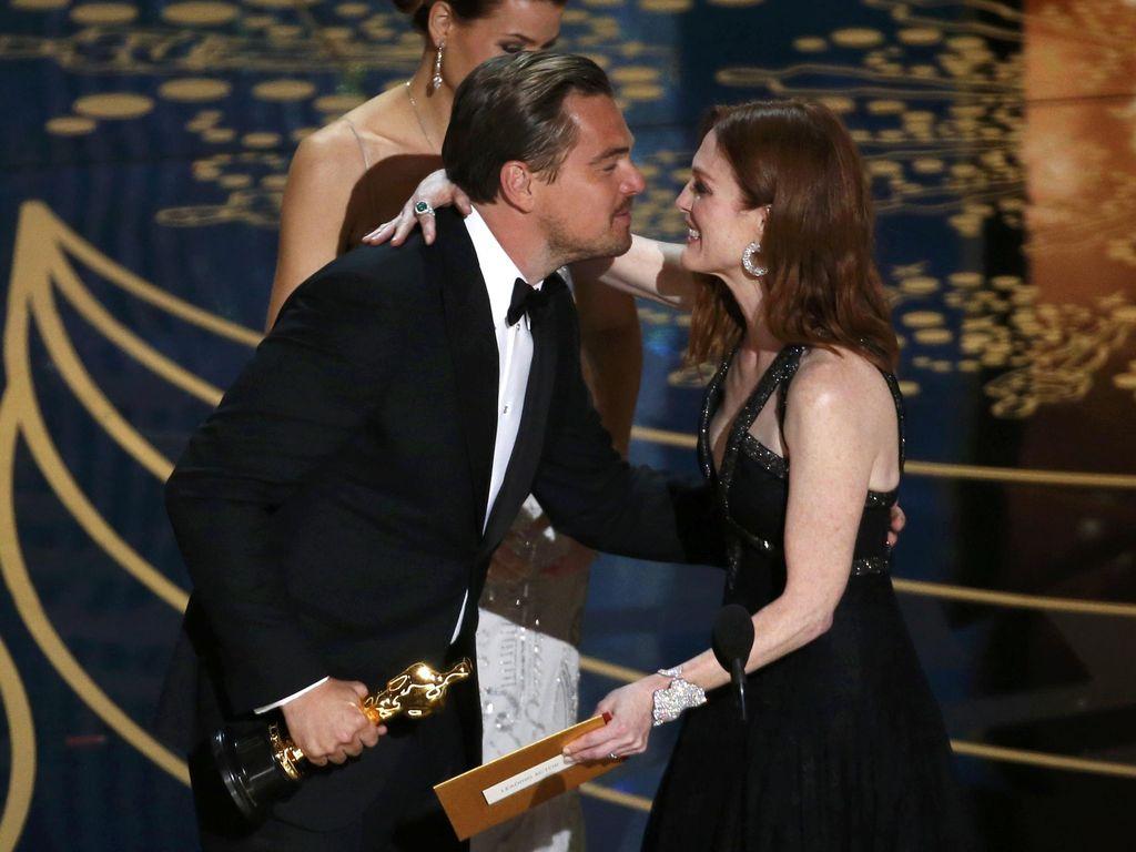 Wow! Kemenangan Leonardo DiCaprio di Oscar di-Tweet 400 Ribu Kali Per Menit
