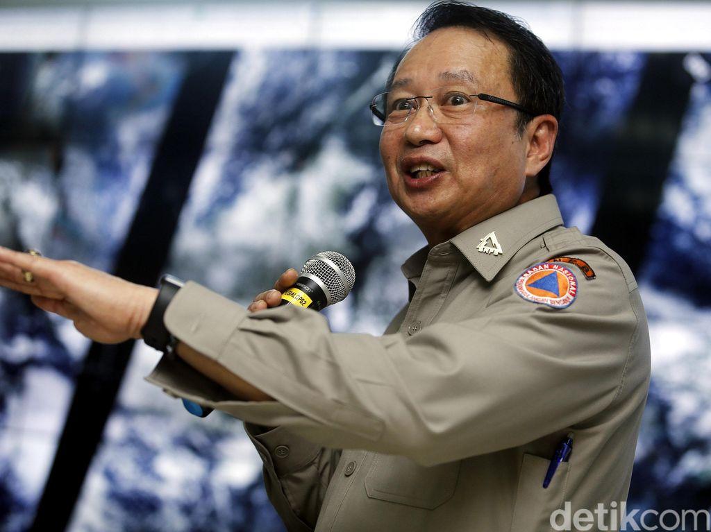 Kepala BNPB: Hoax Erupsi Gunung Agung Timbulkan Kerugian Rp 11 T