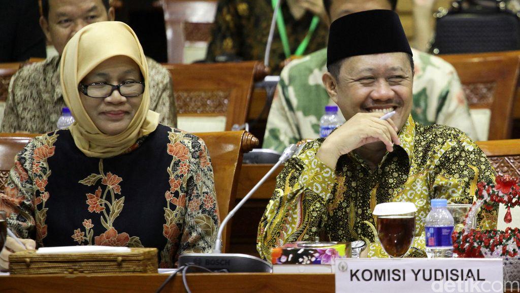 Komisi Yudisial Rapat Konsultasi dengan Komisi III