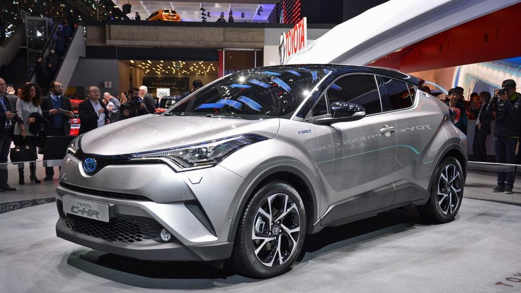 Toyota C-HR Tampil Kece