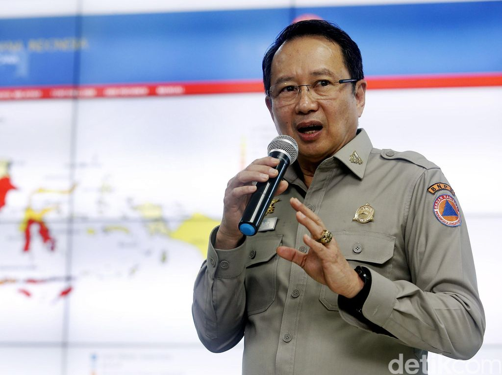 Kepala BNPB Bicara Penanggulangan Bencana