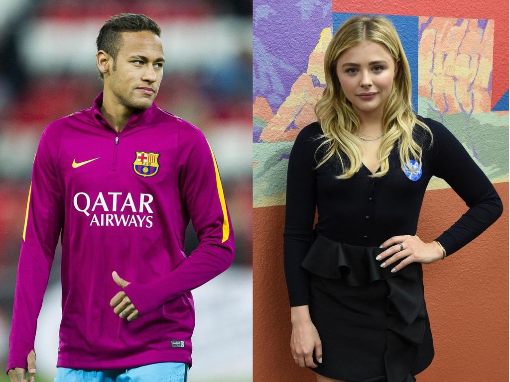 Setelah Brooklyn Beckham, Chloe Moretz Pacari Neymar?