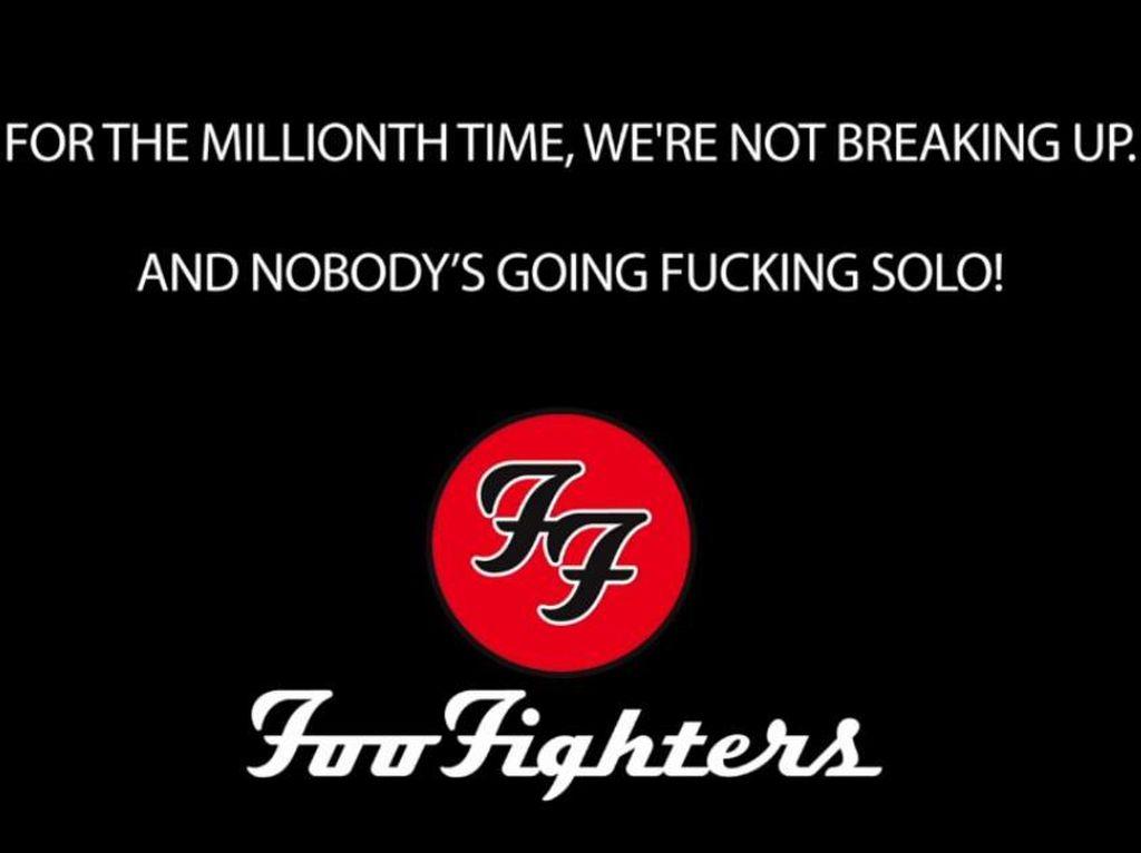 PRANK! Berita Vakum Foo Fighters Hanya Lelucon