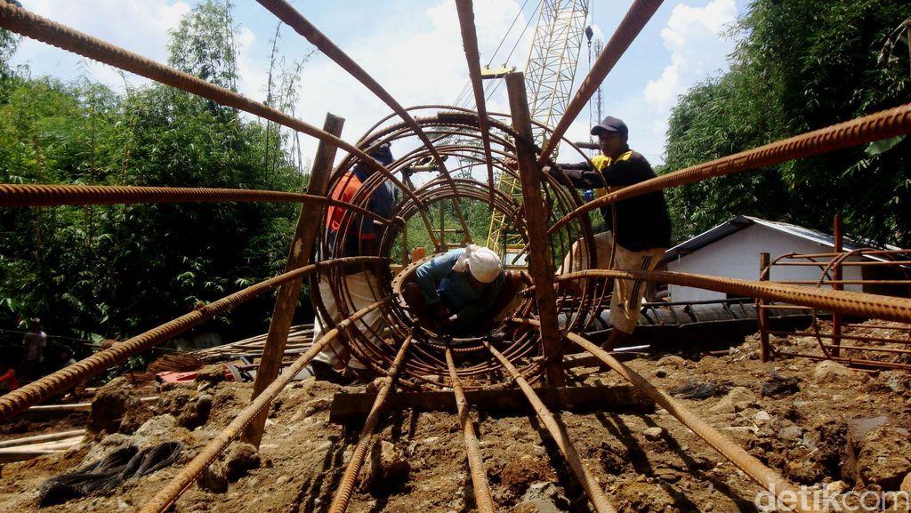 Pembangunan Jalur Kereta Ganda Purwokerto-Kroya