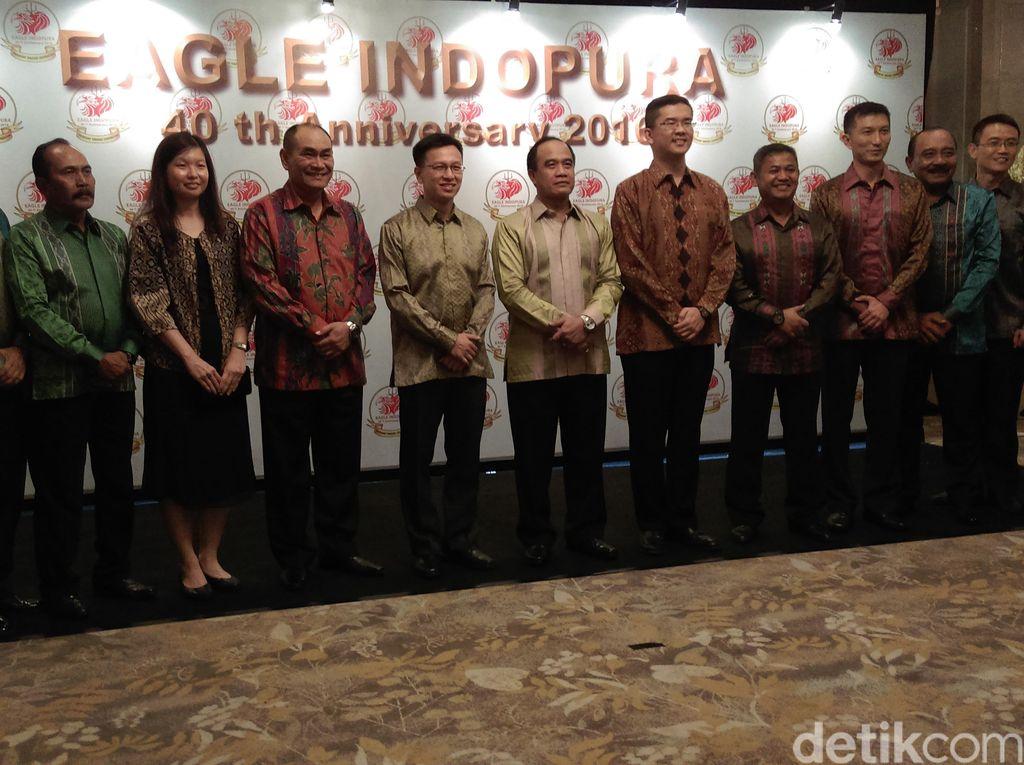 TNI AL Indonesia dan Singapura Peringati 40 Tahun Latihan Bersama