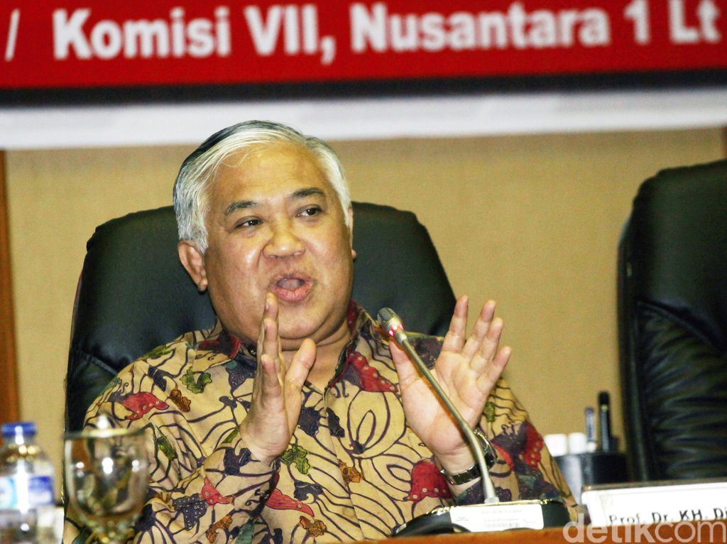 Rekam Jejak Din Syamsuddin: Dulu Siap Jadi Cawapres Jokowi, Kini Motori KAMI